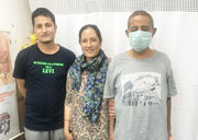 Our Liver Transplant Patient From Nepal.