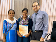 Patient from Assam after successful Liver Surgery