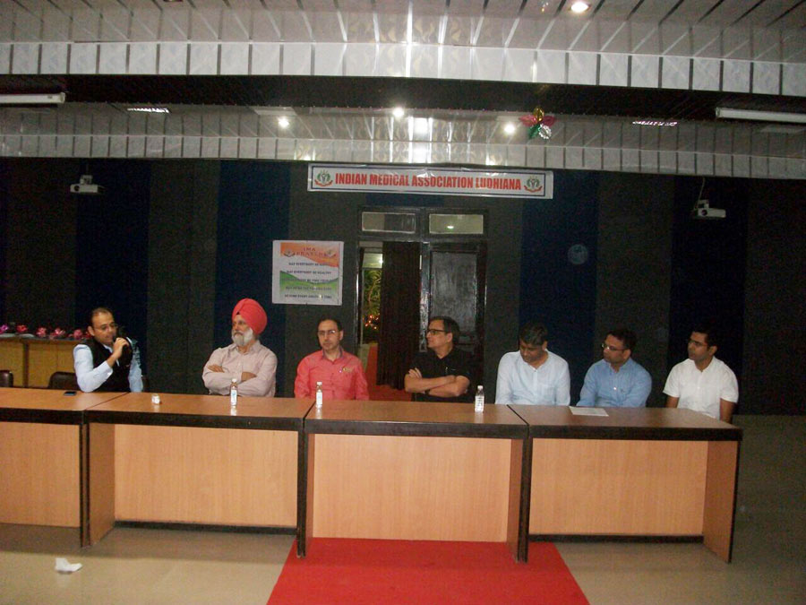 Discussion on living Donor vs Cadaver Liver transplant in presence of esteemed faculty from Ludhiana