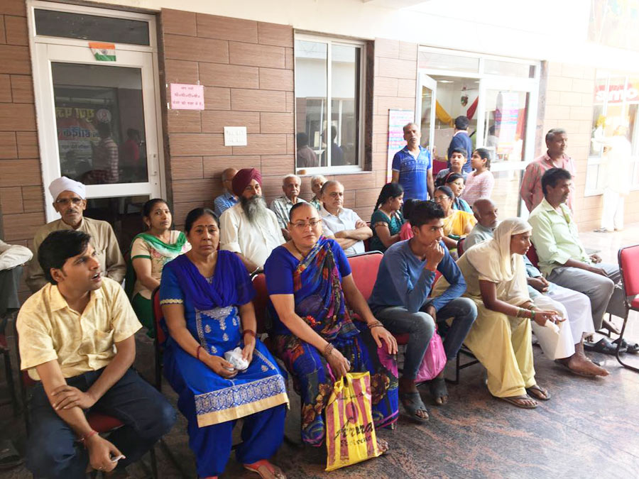Patients Registered at Camp
